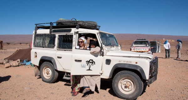 Jeep trips through Morocco